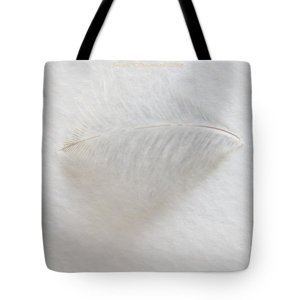 Feather Touch Tote Bag by Sonali Gangane