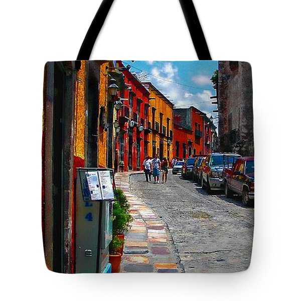 Feeling Groovy Tote Bag by John  Kolenberg