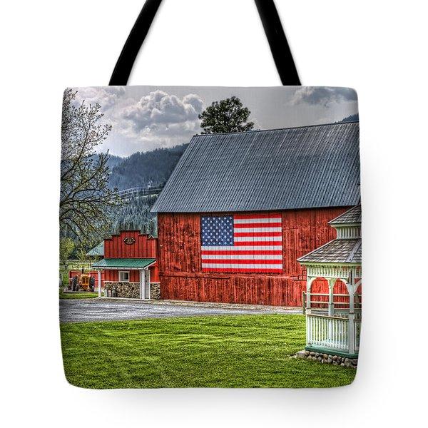 Feeling Patriotic Tote Bag