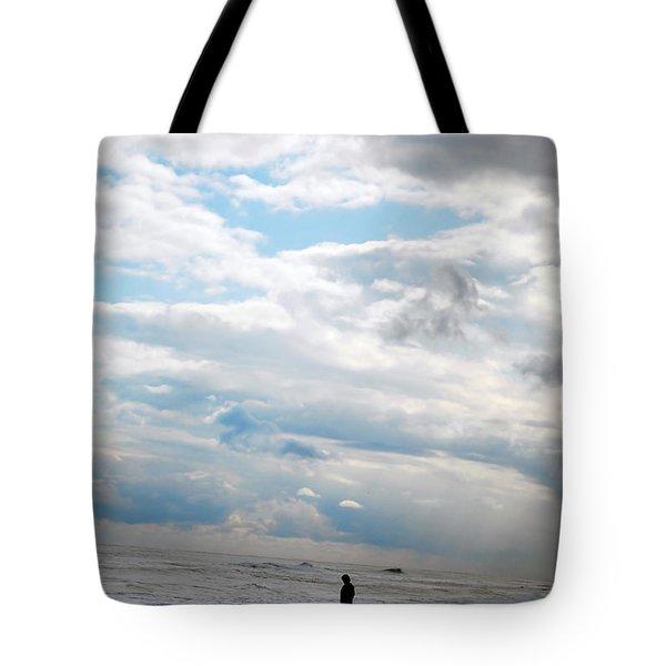 Feeling Small Tote Bag by Lori Tambakis