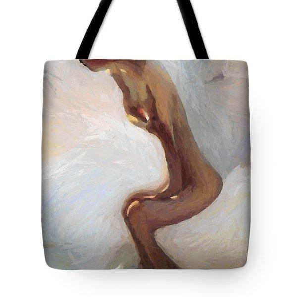 Female Motion Tote Bag