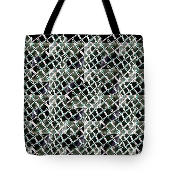 Fenced Tote Bag by Tim Allen