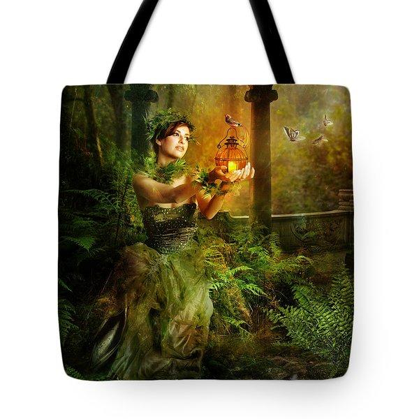 Fern Tote Bag by Mary Hood