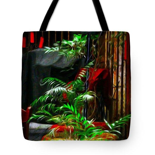 Ferned Joy Tote Bag by John  Kolenberg
