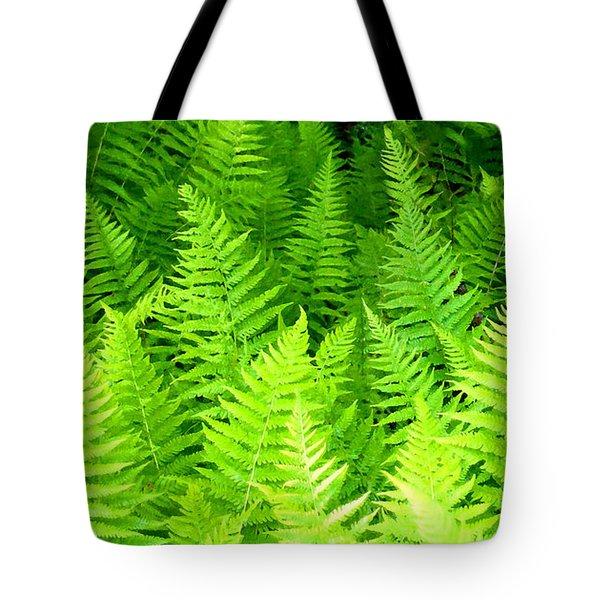 Ferns Galore Filtered Tote Bag