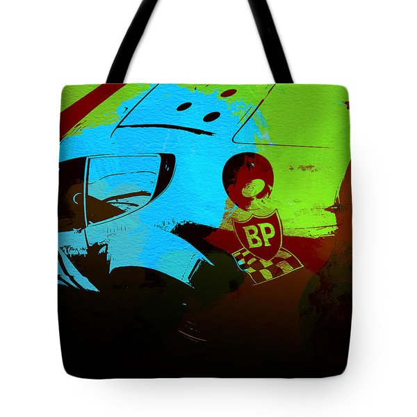 Ferrari  Watercolors Tote Bag