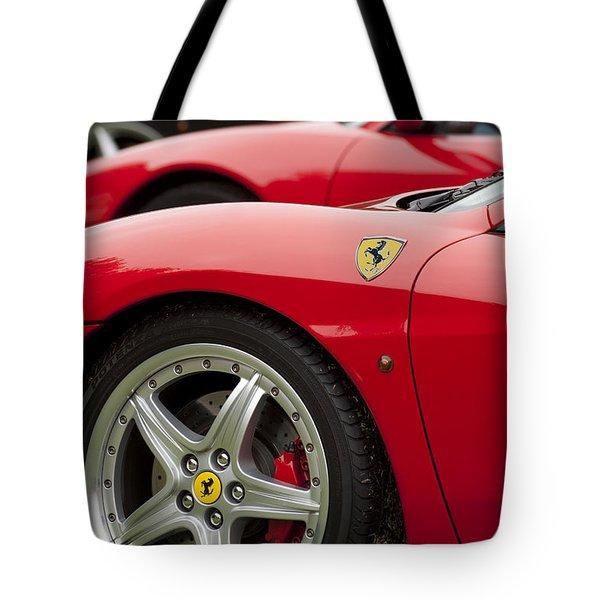 Ferraris 5 Tote Bag by Jill Reger