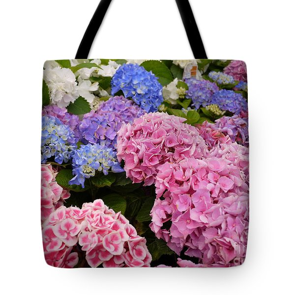 Field Of Happiness Tote Bag by Nancie DeMellia