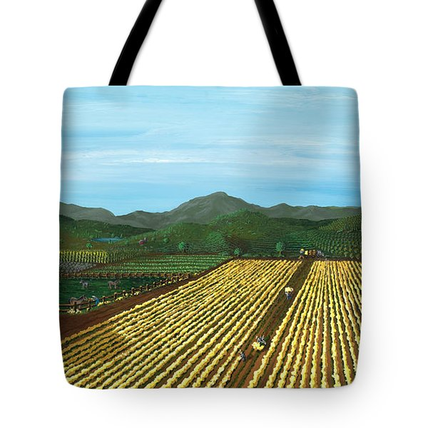 Field Of Yarrow-that's A Flower Tote Bag