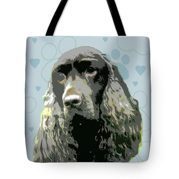Field Spaniel Tote Bag by One Rude Dawg Orcutt