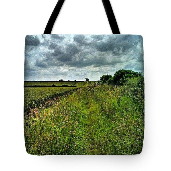 Field Walk Tote Bag