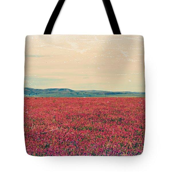 Fields Of Heaven Tote Bag by Leanna Lomanski