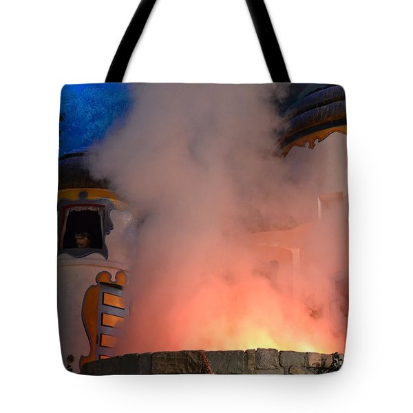 Fiery Entrance Tote Bag