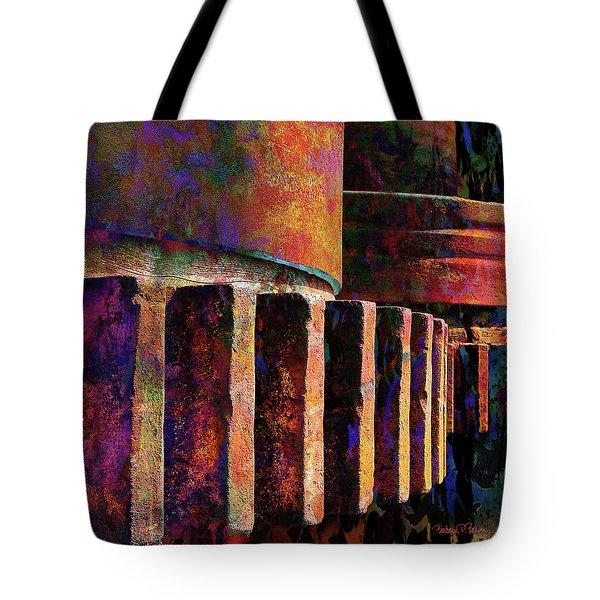 Fiery Glow Tote Bag
