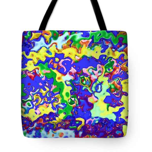 Tote Bag featuring the digital art Fiesta In San Antonio by Alec Drake