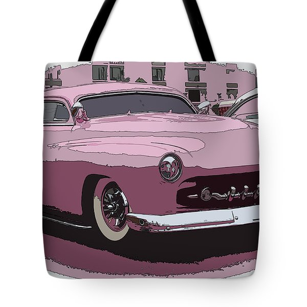 Fiftys Merc Tote Bag by Steve McKinzie