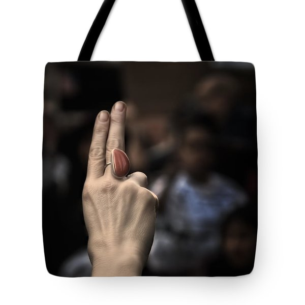 Fight For Your Rights Tote Bag by Evelina Kremsdorf