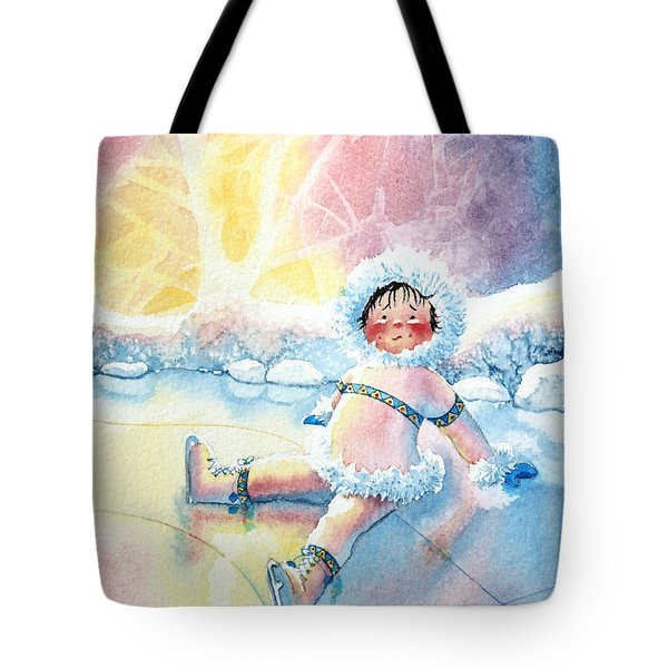 Figure Skater 10 Tote Bag
