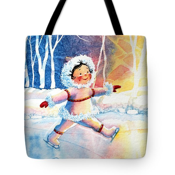 Figure Skater 11 Tote Bag