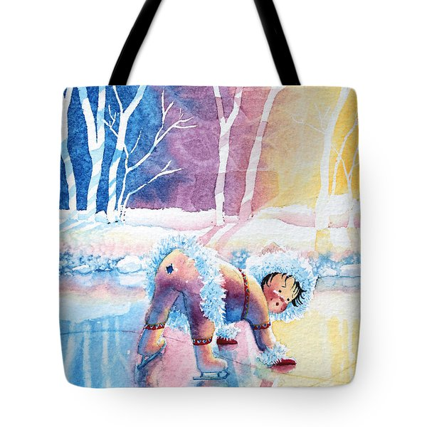 Figure Skater 12 Tote Bag