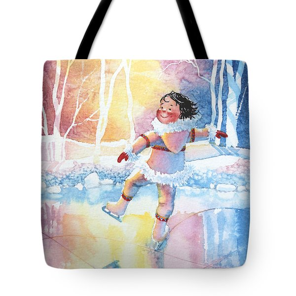 Figure Skater 13 Tote Bag