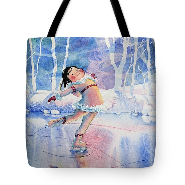 Figure Skater 14 Tote Bag