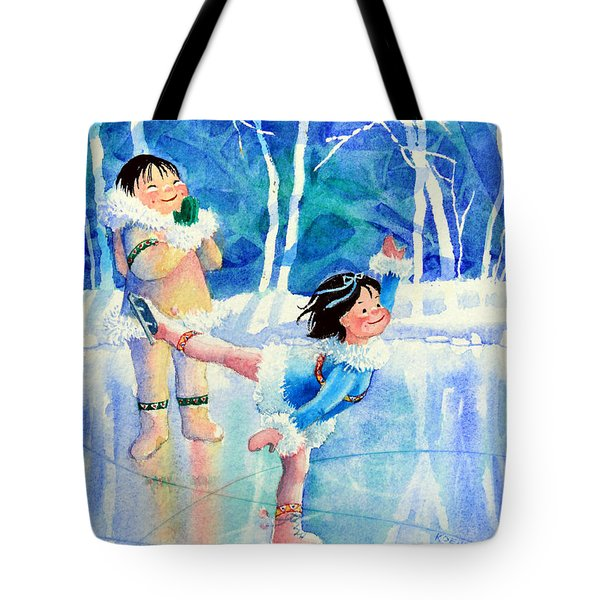 Figure Skater 15 Tote Bag