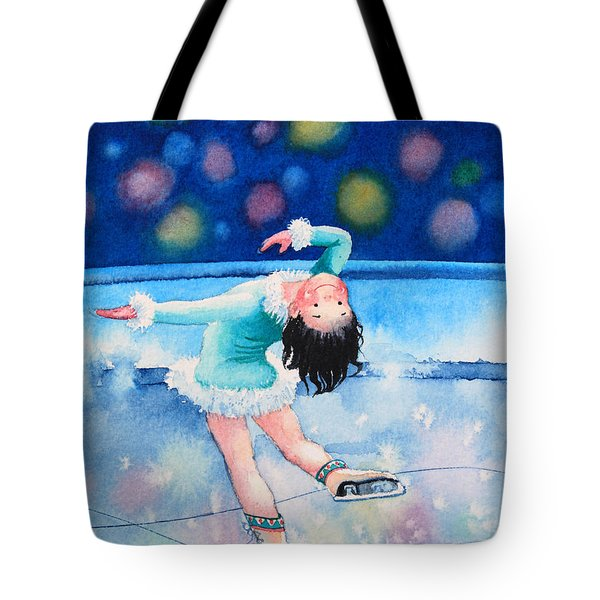 Figure Skater 16 Tote Bag