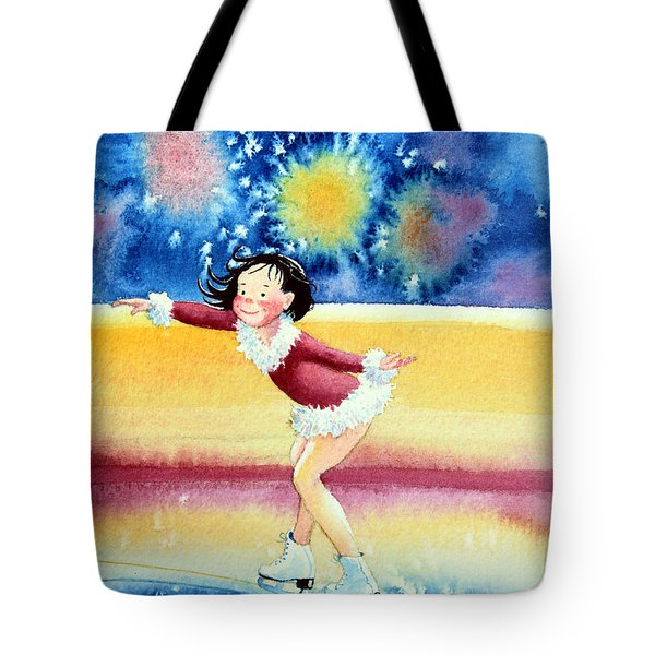 Figure Skater 17 Tote Bag