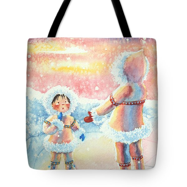 Figure Skater 8 Tote Bag