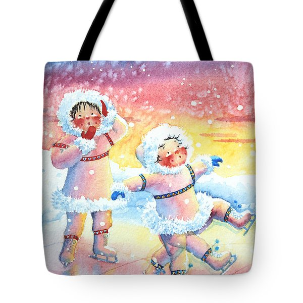 Figure Skater 9 Tote Bag