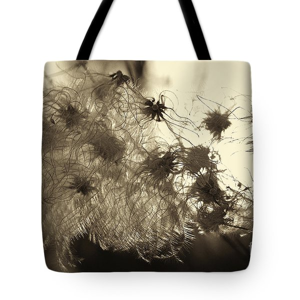 Filaments Tote Bag by Eunice Gibb