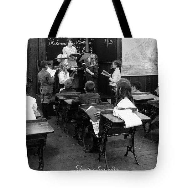 Film Still: Classroom Tote Bag by Granger