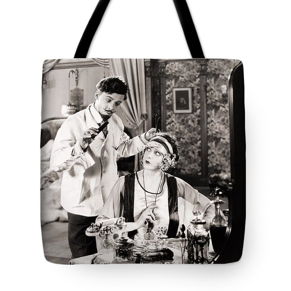 Film: The White Moth, 1924 Tote Bag by Granger