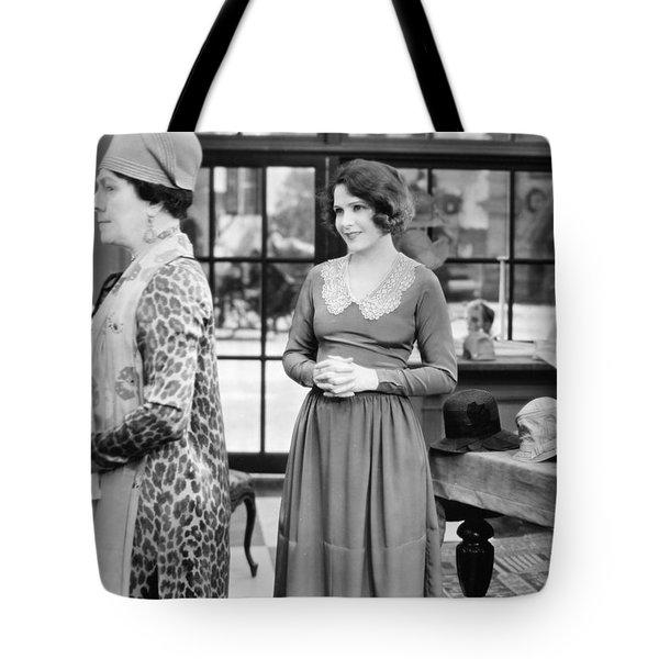 Film: Woman Disputed, 1928 Tote Bag by Granger