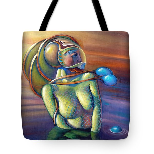 Fin Cephalarvum Tote Bag by Patrick Anthony Pierson