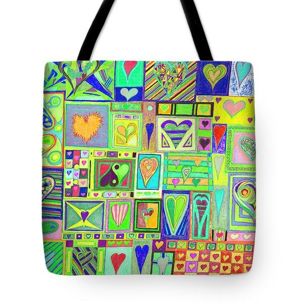 find U'r Love found    v18 Tote Bag
