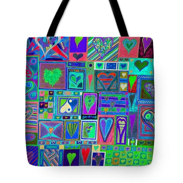 find U'r Love found    v13 Tote Bag