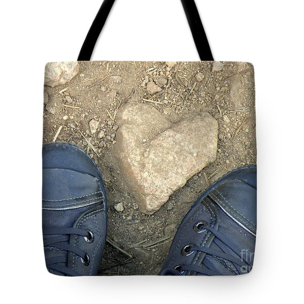 Finding Hearts Tote Bag