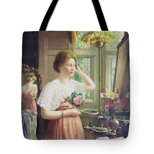 Finishing Touches Tote Bag by George Wimpenny