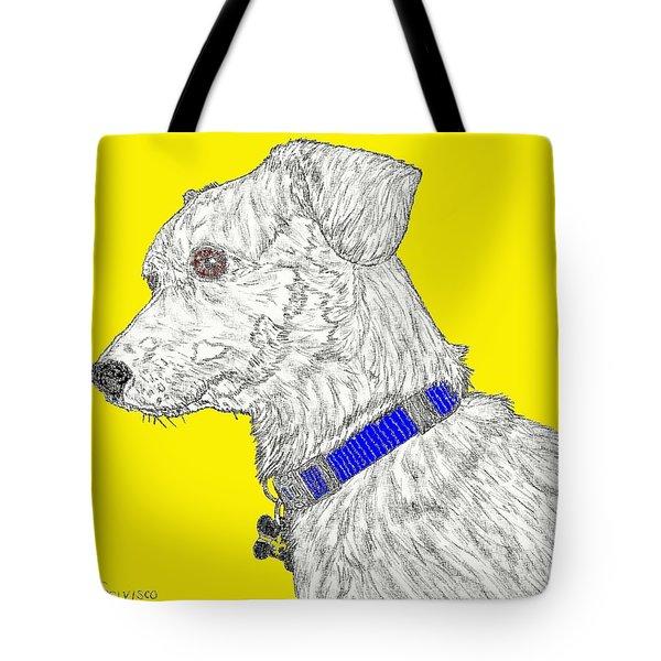Finn In Color Tote Bag by Salvadore Delvisco