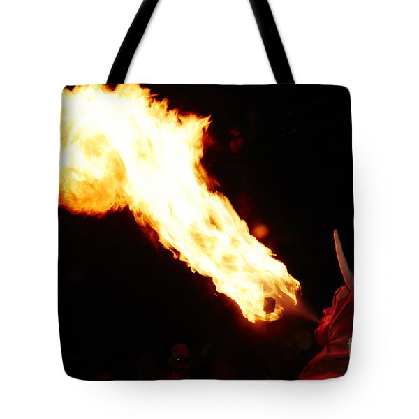 Fire Axe Tote Bag