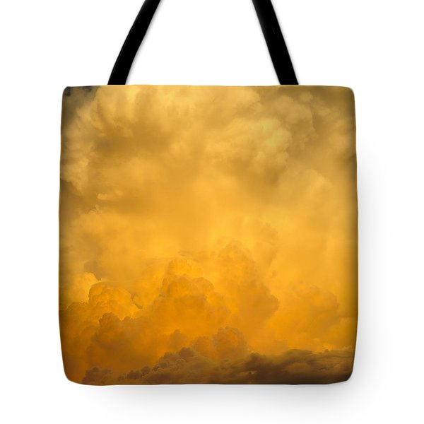 Fire In The Sky Fsp Tote Bag by Jim Brage