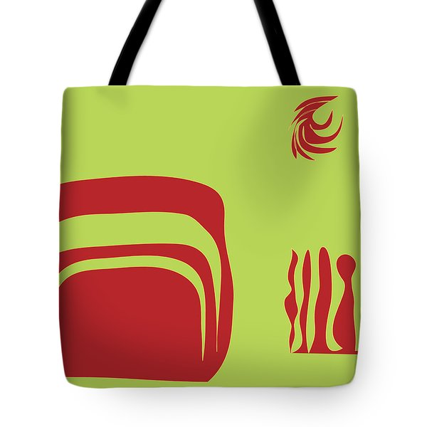 Fire Spirit Cave Tote Bag