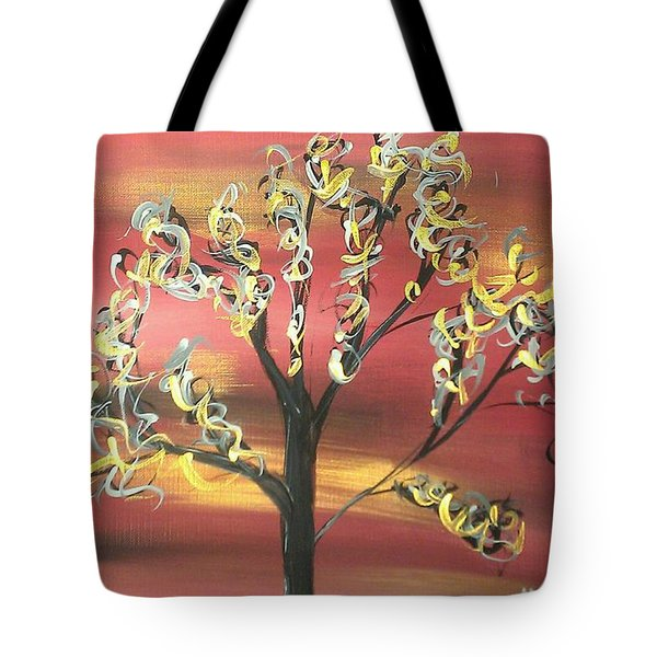 Fire Storm Tote Bag by Mark Moore