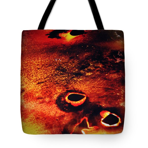 Fire Wall Tote Bag by Jerry Cordeiro