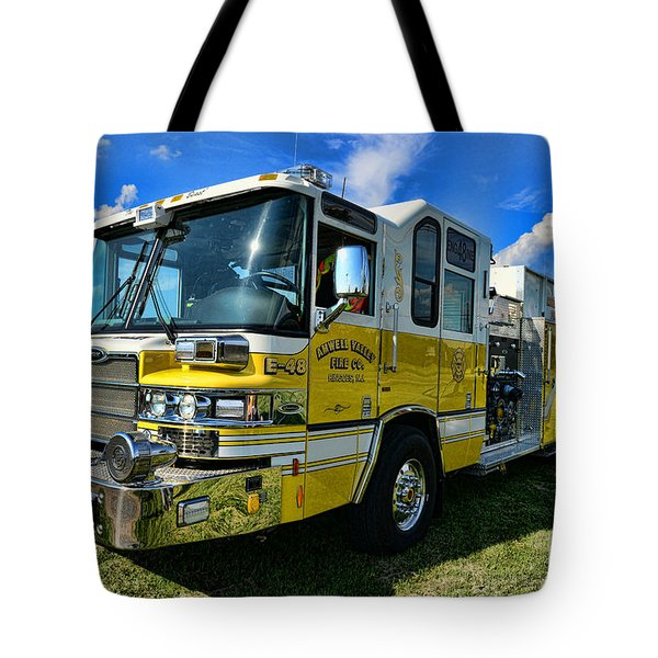 Fireman - Amwell Valley Fire Co. Tote Bag by Paul Ward