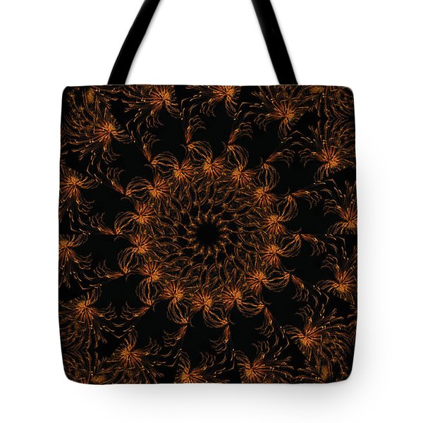 Firestorm 6 Tote Bag by Rhonda Barrett