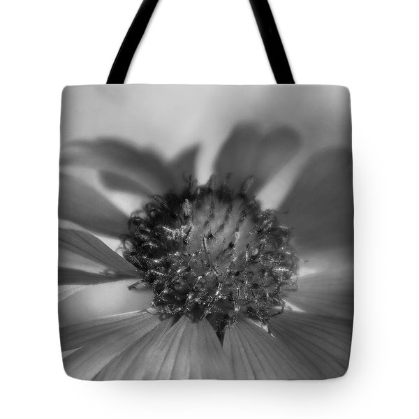Tote Bag featuring the photograph Firewheel In Mono by Vicki Pelham