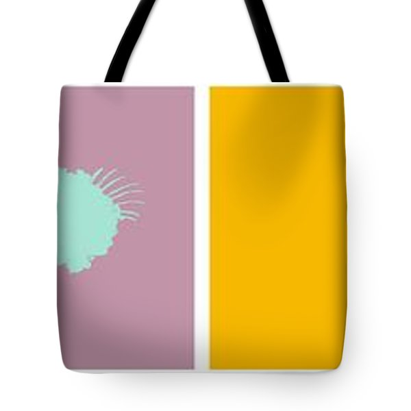 Firework Collage Tote Bag by Michelle Calkins
